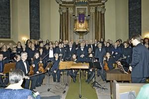 Gemeinsames Adventskonzert der Johanniskantorei und der Ev. Kantorei Bergen Enkheim 2013 - Foto: E.E.W.